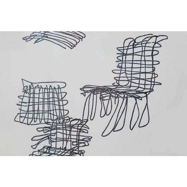 Frank Gehry 1980s Vintage Frank Gehry Signed Lithograph For Sale - Image 4 of 5