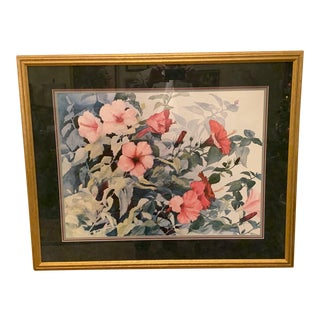 Floral Print by Sudie Payne Davis For Sale