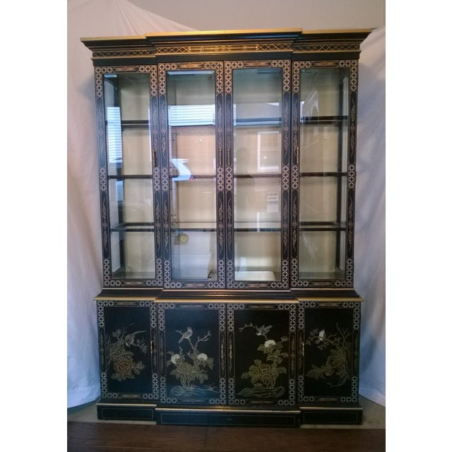Drexel Heritage Chinoiserie China Cabinet