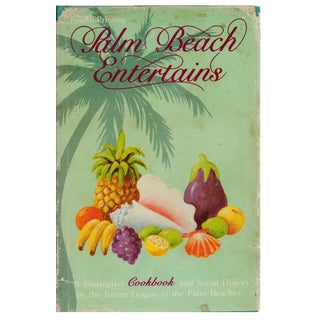 Palm Beach Cookbook & Social History For Sale