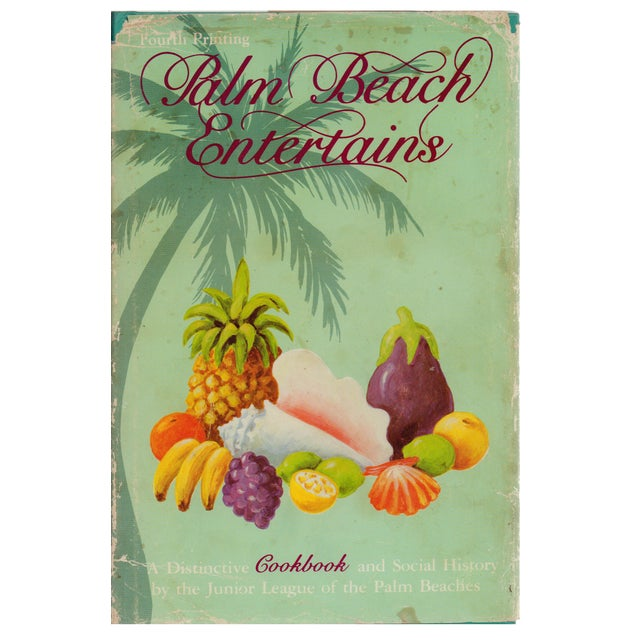 Palm Beach Cookbook & Social History - Image 1 of 2