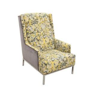 Kravet Upholstered Mid Century Modern Wingback Chair Preview
