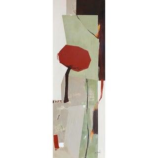 """Fanou Montel """"Japonsaiserie"""" Minimalist Painting For Sale"""