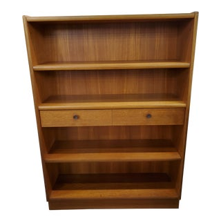 Nathan Mid-Century Teak Bookcase For Sale
