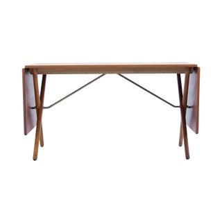 Hans J. Wegner Cross-Leg Dining Table For Sale