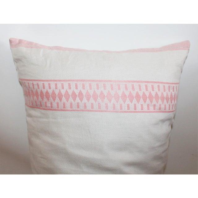 American Floral Tea Towel Pillow - Image 4 of 6