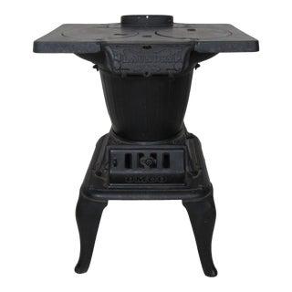 Vintage Cast Iron Laundry Stove For Sale