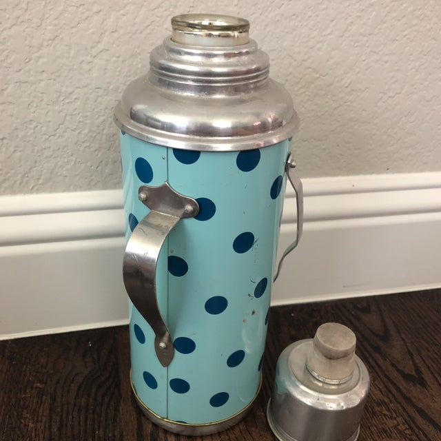 Vintage Thermos and Mug Set For Sale - Image 4 of 8