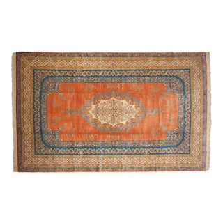 "Vintage Bulgarian Kerman Design Carpet - 11'10"" X 18'7"" For Sale"