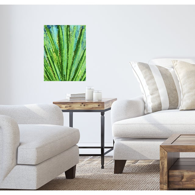 """2020s """"Succulent"""" Original Abstract Acrylic Painting by Tony Marine For Sale - Image 5 of 6"""