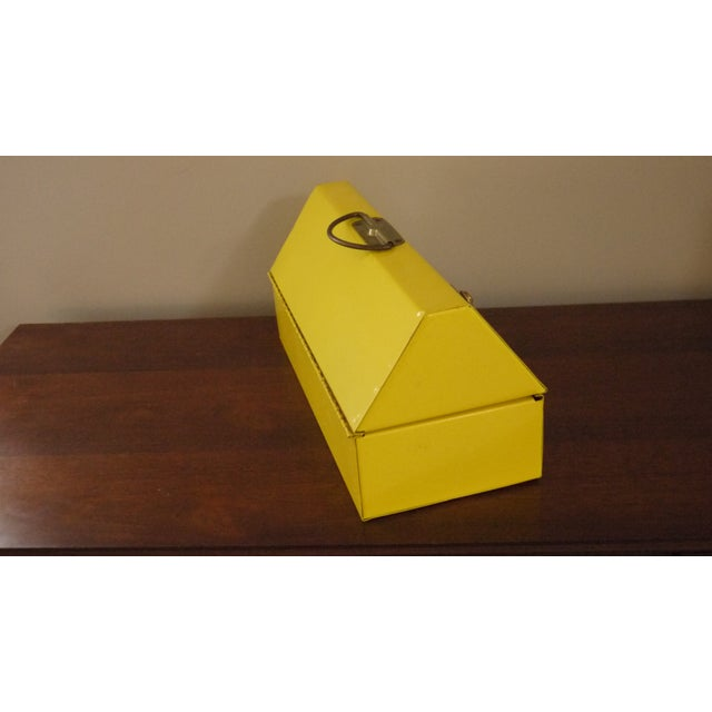 Yellow Metal Toolbox For Sale In Philadelphia - Image 6 of 6