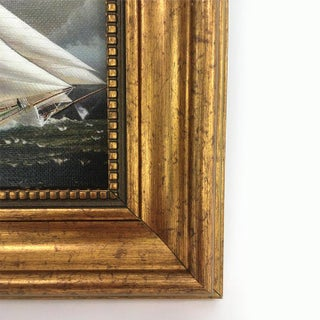 Framed Petite Sailing Ship Painting Preview