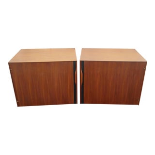 1970's Mid-Century Modern John Kapel for Glenn of California Side Tables/Nightstands - a Pair For Sale