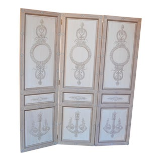 Vintage Maitland-Smith Neoclassical Style Room Divider For Sale