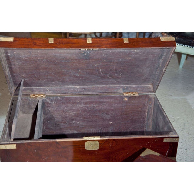 Antique Campaign Box - Image 6 of 8