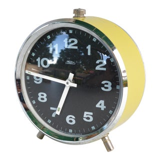 1960s Mechanical Alarm Clock Prim For Sale