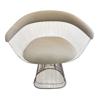 Warren Platner Armchair for Knoll For Sale