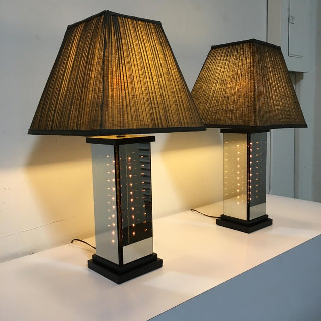 Black 1970s Table Lamps by Lifeline - A Pair For Sale - Image 8 of 9