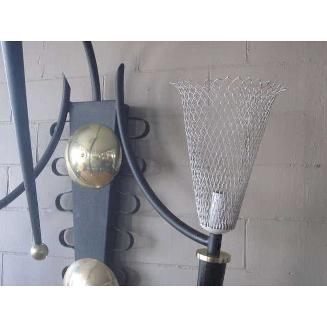 P. Marchand Monumental New York Theater Sconce In The Style Of Mategot For Sale In Cincinnati - Image 6 of 7