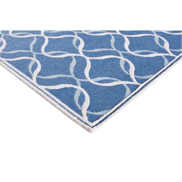 Contemporary Stark Studio Rugs Contemporary Linen Soumak Rug - 6′1″ × 8′11″ For Sale - Image 3 of 4