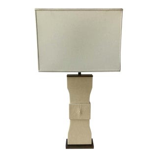Shagreen Table Lamp For Sale