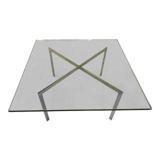 Lugwig Van Der Rohe for Knoll Barcelona Table For Sale