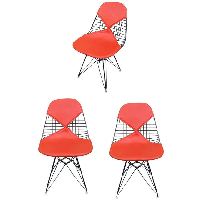 Herman Miller Eames DKR Bikini Chairs- Set of 3 - Image 1 of 8