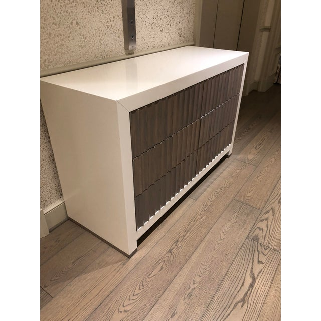 Contemporary Ny Scalamandre Chest of Drawers For Sale - Image 3 of 6