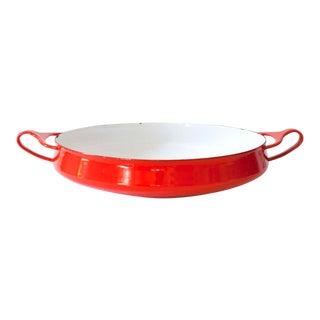 Medium Red Dansk Kobenstyle Oven to Table Server