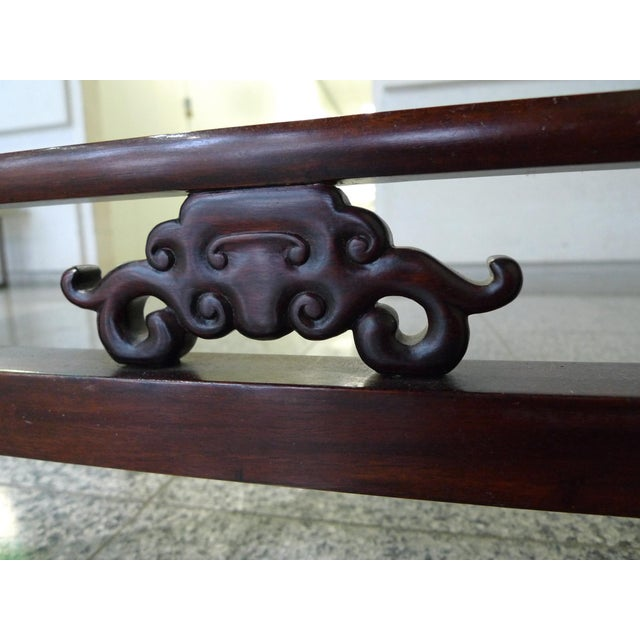 Elm 20th Century Elmwood Asian Altar Table For Sale - Image 7 of 8