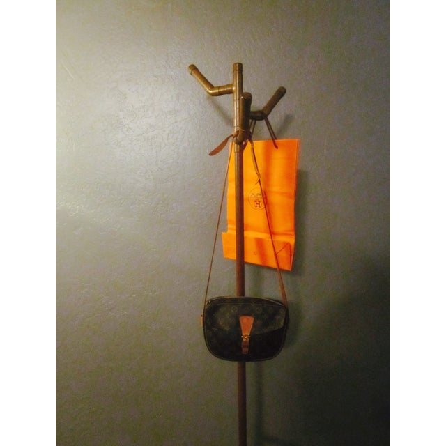 Modernist Copper Coat Rack Hat Tree - Image 11 of 11