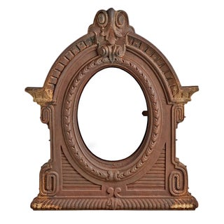 Monumental French Cast Iron Window Circa 1800