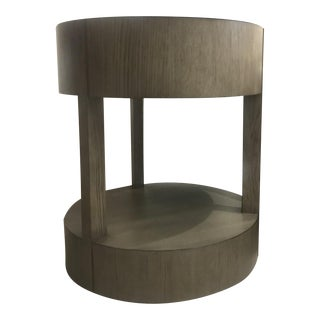 Bernhardt Calder Round End Table For Sale