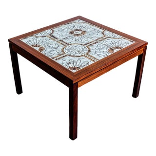 Mid-Century Modern Rosewood Side Table For Sale