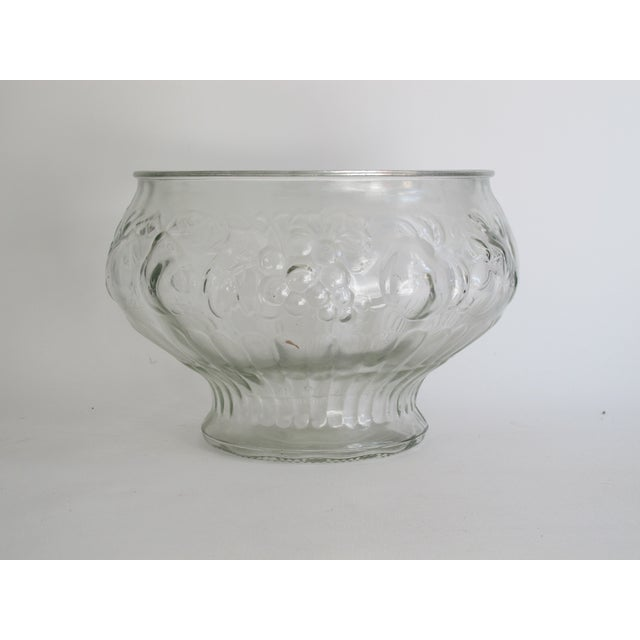 Italian Glass Harvest Punch Bowl - Image 2 of 5