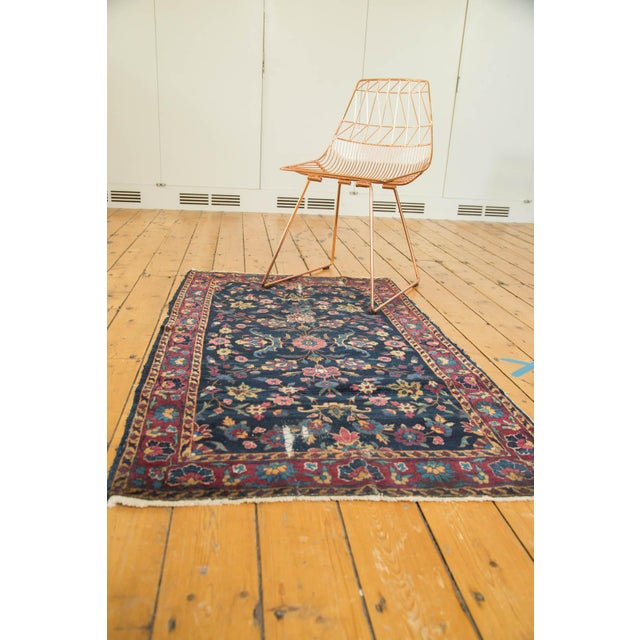 "Vintage Yezd Rug - 2'11"" X 4'10"" For Sale - Image 9 of 11"