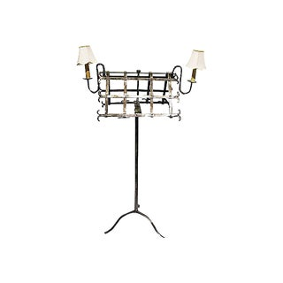 Antique Double Sided Music Stand For Sale