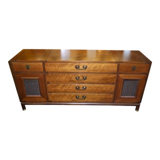 1960s Mid-Century Modern Johnson Furniture Bert England Walnut Sideboard For Sale