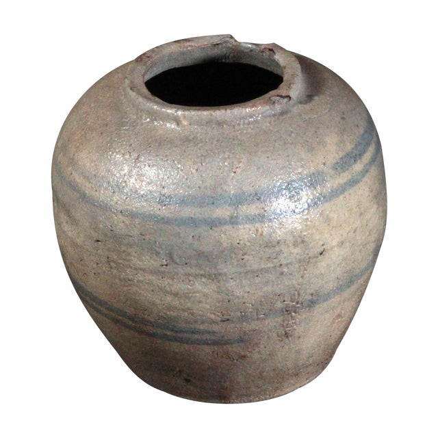 19th Century Chinese Provincial Blue & White Jar - Image 1 of 11