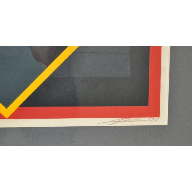 Vintage 1970s Modern Silkscreen Print - Image 5 of 6