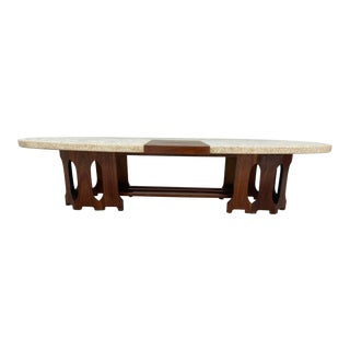 Harvey Probber Terrazzo Marble Top Coffee Table For Sale