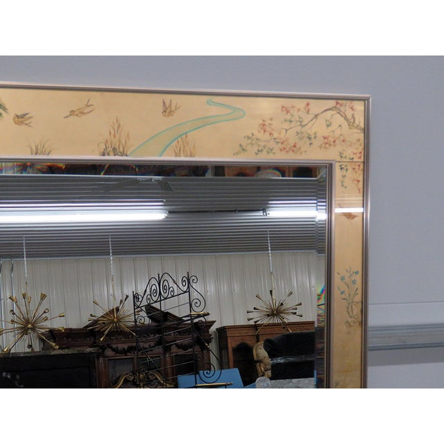 Labarge LaBarge Asian Inspired Mirror For Sale - Image 4 of 9