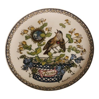 Ole Winther Hutschenreuther Germany June Plate of the Month For Sale