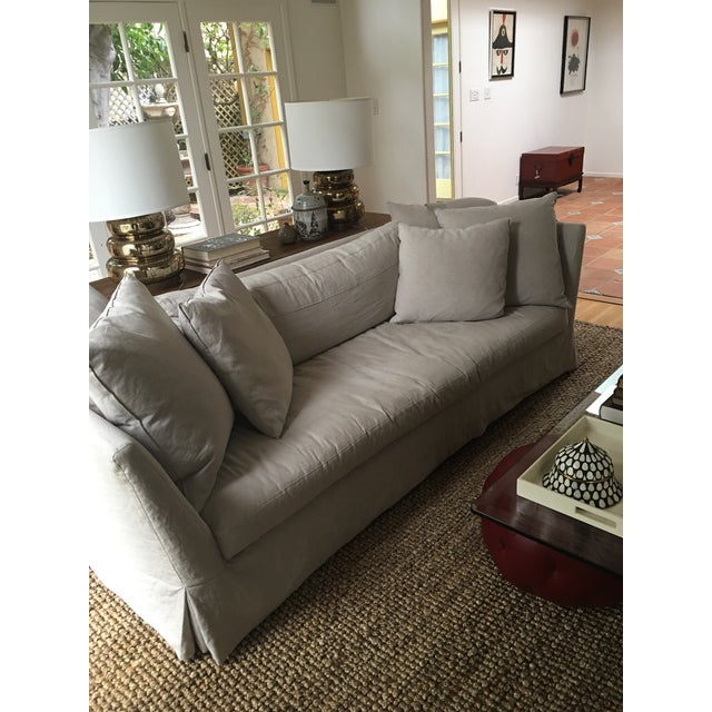 cisco brothers seda slipcover sofa chairish. Black Bedroom Furniture Sets. Home Design Ideas
