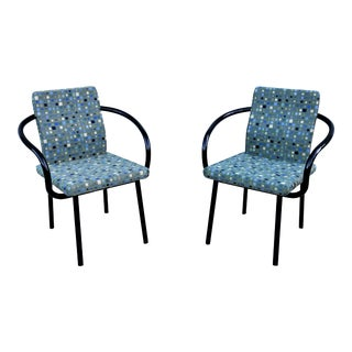 Vintage Ettore Sottsass for Knoll Mandarin Chairs - A Pair For Sale