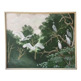 Herons in the Forest by Clifton