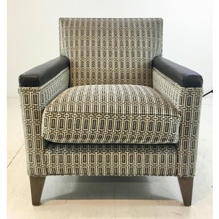 Hickory White Modern Black and White Club Chair 4234-01 Preview