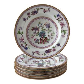 19th Century Royal Worcester Bowls, Set of 6