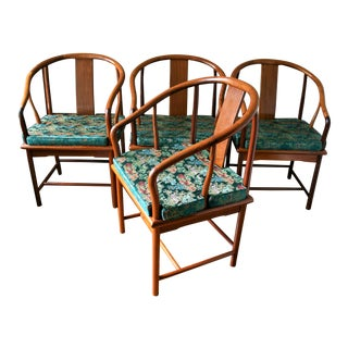 Chinese Ming Style Dining Chairs - Set of 4 For Sale