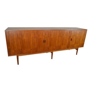 Arne Vodder for Sibast Model Os36 Danish Modern Teak Credenza For Sale